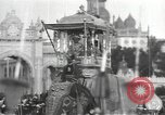 Image of Procession with decorated elephant Bombay India, 1932, second 18 stock footage video 65675063442