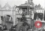 Image of Procession with decorated elephant Bombay India, 1932, second 19 stock footage video 65675063442