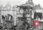 Image of Procession with decorated elephant Bombay India, 1932, second 21 stock footage video 65675063442