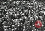 Image of Procession with decorated elephant Bombay India, 1932, second 28 stock footage video 65675063442