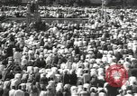 Image of Procession with decorated elephant Bombay India, 1932, second 30 stock footage video 65675063442