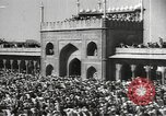 Image of Procession with decorated elephant Bombay India, 1932, second 34 stock footage video 65675063442