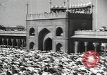 Image of Procession with decorated elephant Bombay India, 1932, second 37 stock footage video 65675063442