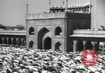 Image of Procession with decorated elephant Bombay India, 1932, second 38 stock footage video 65675063442