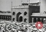 Image of Procession with decorated elephant Bombay India, 1932, second 39 stock footage video 65675063442