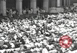 Image of Procession with decorated elephant Bombay India, 1932, second 43 stock footage video 65675063442