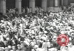 Image of Procession with decorated elephant Bombay India, 1932, second 44 stock footage video 65675063442
