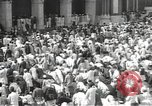 Image of Procession with decorated elephant Bombay India, 1932, second 45 stock footage video 65675063442