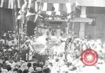 Image of Procession with decorated elephant Bombay India, 1932, second 57 stock footage video 65675063442