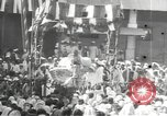 Image of Procession with decorated elephant Bombay India, 1932, second 58 stock footage video 65675063442