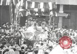Image of Procession with decorated elephant Bombay India, 1932, second 59 stock footage video 65675063442