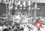 Image of Procession with decorated elephant Bombay India, 1932, second 62 stock footage video 65675063442