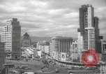 Image of traffic on streets Mexico City Mexico, 1944, second 3 stock footage video 65675063454