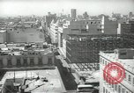 Image of traffic on streets Mexico City Mexico, 1944, second 16 stock footage video 65675063454