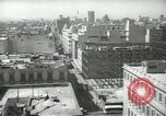Image of traffic on streets Mexico City Mexico, 1944, second 17 stock footage video 65675063454