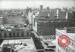 Image of traffic on streets Mexico City Mexico, 1944, second 21 stock footage video 65675063454