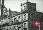 Image of traffic on streets Mexico City Mexico, 1944, second 29 stock footage video 65675063454
