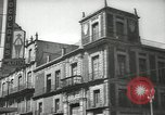 Image of traffic on streets Mexico City Mexico, 1944, second 31 stock footage video 65675063454
