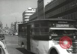 Image of traffic on streets Mexico City Mexico, 1944, second 3 stock footage video 65675063455