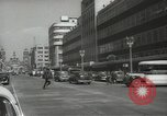 Image of traffic on streets Mexico City Mexico, 1944, second 6 stock footage video 65675063455