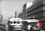 Image of traffic on streets Mexico City Mexico, 1944, second 20 stock footage video 65675063455