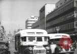 Image of traffic on streets Mexico City Mexico, 1944, second 21 stock footage video 65675063455