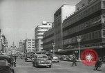 Image of traffic on streets Mexico City Mexico, 1944, second 24 stock footage video 65675063455