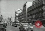 Image of traffic on streets Mexico City Mexico, 1944, second 25 stock footage video 65675063455