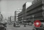 Image of traffic on streets Mexico City Mexico, 1944, second 26 stock footage video 65675063455