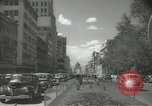 Image of traffic on streets Mexico City Mexico, 1944, second 27 stock footage video 65675063455