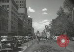 Image of traffic on streets Mexico City Mexico, 1944, second 28 stock footage video 65675063455