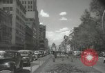 Image of traffic on streets Mexico City Mexico, 1944, second 29 stock footage video 65675063455