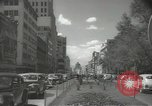 Image of traffic on streets Mexico City Mexico, 1944, second 30 stock footage video 65675063455