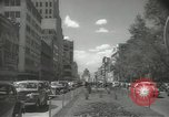 Image of traffic on streets Mexico City Mexico, 1944, second 31 stock footage video 65675063455