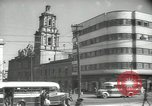Image of traffic on streets Mexico City Mexico, 1944, second 32 stock footage video 65675063455