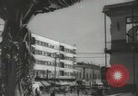 Image of traffic on streets Mexico City Mexico, 1944, second 53 stock footage video 65675063455