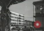 Image of traffic on streets Mexico City Mexico, 1944, second 54 stock footage video 65675063455