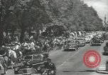 Image of ongoing parade Mexico City Mexico, 1944, second 6 stock footage video 65675063456