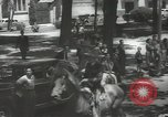 Image of ongoing parade Mexico City Mexico, 1944, second 9 stock footage video 65675063456