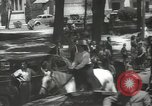Image of ongoing parade Mexico City Mexico, 1944, second 12 stock footage video 65675063456
