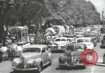 Image of ongoing parade Mexico City Mexico, 1944, second 13 stock footage video 65675063456