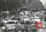 Image of ongoing parade Mexico City Mexico, 1944, second 14 stock footage video 65675063456