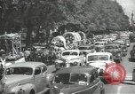 Image of ongoing parade Mexico City Mexico, 1944, second 15 stock footage video 65675063456