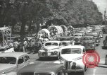 Image of ongoing parade Mexico City Mexico, 1944, second 16 stock footage video 65675063456