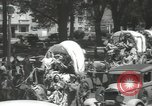 Image of ongoing parade Mexico City Mexico, 1944, second 18 stock footage video 65675063456
