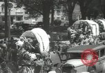Image of ongoing parade Mexico City Mexico, 1944, second 19 stock footage video 65675063456