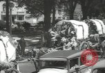 Image of ongoing parade Mexico City Mexico, 1944, second 21 stock footage video 65675063456