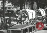 Image of ongoing parade Mexico City Mexico, 1944, second 22 stock footage video 65675063456