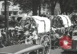Image of ongoing parade Mexico City Mexico, 1944, second 23 stock footage video 65675063456