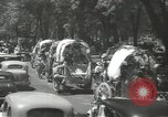 Image of ongoing parade Mexico City Mexico, 1944, second 24 stock footage video 65675063456